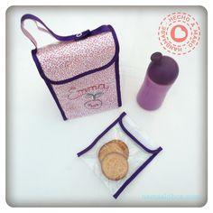 Lunch bag and sandwich bag / Bolsa de merienda y bolsita para sandwich