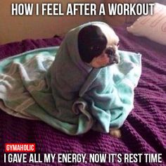 How I Feel After A Workout