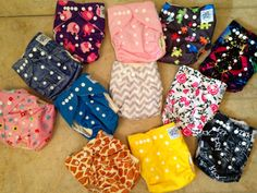 Cutest cloth diapers, thanks Piddly-Winx!