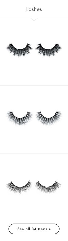 """""""Lashes"""" by hrockholt ❤ liked on Polyvore featuring beauty products, makeup, eye makeup, false eyelashes, beauty, eyes, fillers, hypoallergenic eye makeup, accessories and backgrounds"""