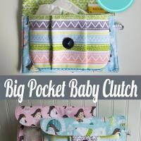 Big Pocket Baby Clutch