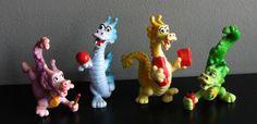 McDonalds toys,1988 dragons