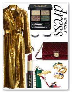 """Holiday Party Dress"" by marquaysab ❤ liked on Polyvore featuring A.L.C., Calvin Klein, Gucci, David Jones, Tory Burch and partydress"