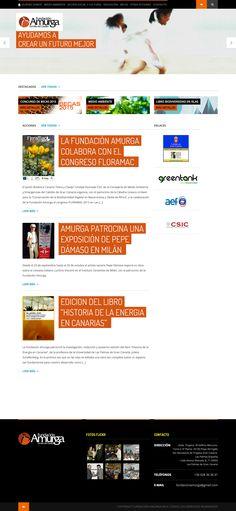 Web Fundación Amurga Familia del Castillo.  http://www.fundacionamurga.es