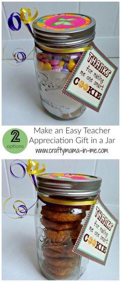 Make an Easy Teacher Appreciation Gift in a Jar