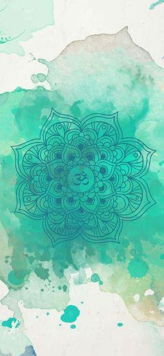 ૐ OM ૐ Green mandalaClick the link now to find the center in you with our amazing selections of items ranging from yoga apparel to meditation space dec