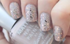 Sequin Nails - Barry M