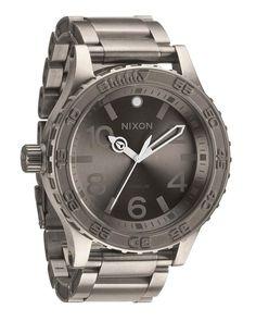 Montre titane homme - NIXON #watch