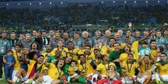 Brazil crush Spain to win Confederations Cup - Solar Sports Desk Brazil Players, Laws Of The Game, International Football, National Association, Fifa, Victorious, Coaching, Dolores Park, Competition