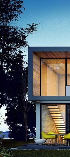 Timber and glass are a must (my opinion) for a house, not just a window I'm talking at least a whole wall