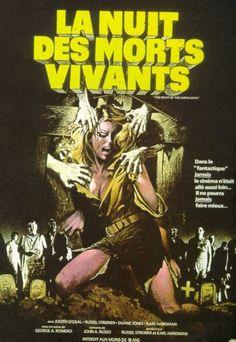 """Affiche pour """"La nuit des morts-vivants"""" [George Romero, 1968]"""