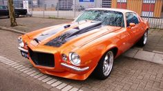 1970-1/2 Z-28 Camaro - one of my all time favorite cars in one of my all time favorite colors - Hugger Orange