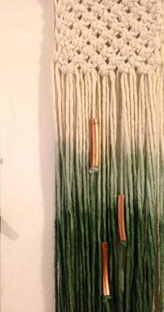 Hand-cut raw copper beads add-on to any wall by Rowanstudios