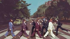The Beatles by Alberto Mielgo