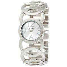 XOXO Women's XO5210 Silver Dial Silver-tone Open Link Bracelet Watch (Watch)
