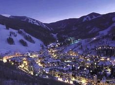 Vail, Colorado. I love this place so beautiful and so much fun!