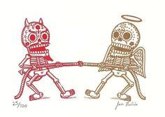 Картинки по запросу del muerte skulls