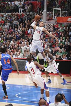 Blake Griffin and DeAndre Jordan prove too much to handle for NY Knicks Basketball Moves, Basketball Pictures, Sports Basketball, Sports Pictures, College Basketball, Basketball Players, Basketball Stuff, Blake Griffin Dunk, Best Dunks