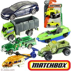 MATTEL MATCHBOX VEHICLES ASSORTEMENTS. This huge assortment of free wheel vehicles includes die cast race cars, emergency vehicles, helicopters, vans and more that will delight any Matchbox cars collector. Assorted colors and styles. Assortments will vary. Each blister carded.  Sizes 3 Inch vehicles, packaging 6.5 X 4.5 Inches