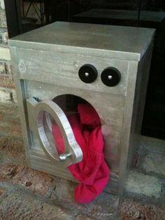 Wooden Washing Machine