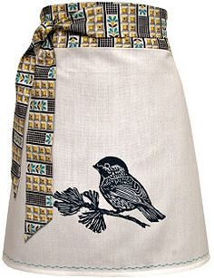 chickadee apron #bakingday