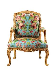 """Sold at Sotheby's, """"Mobilier, Sculptures, et Objets d'art"""" (Paris, April 16) Trends come and go, but there always seems to be a market for fine French furniture, as evidenced by this richly carved chair, the auction's top lot. Commissioned by Madame de Pompadour— Louis XV's chief mistress and a leading tastemaker of her day—the gilded piece was part of a suite that once graced her grand salon at Château de Crécy. (The fauteuil was later seized by France's revolutionary government and was…"""