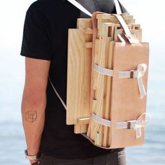 """Liked idea about Spanish Furniture: Nomadic Furniture by Jorge Penades.brings me back to the """"Temporal Dwelling"""" project year architecture school."""