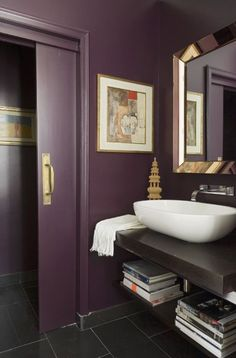 Interior designers swear purple is not a timeless color, so at any chance, home owners should avoid it.