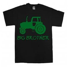 New Big Brother Tractor / Farm /  tee shirt  t-shirt / shirt for boy - any size from toddler to youth (more colors) by Ilove2sparkle on Etsy https://www.etsy.com/listing/230701535/new-big-brother-tractor-farm-tee-shirt-t