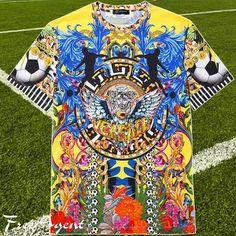 限定★ワールドカップ☆Loves Brazil☆Tシャツ☆ヴェルサーチ