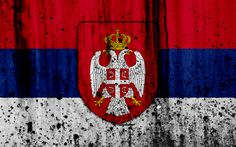 Grunge, Serbian Flag, Coat Of Arms, Russia, Wallpaper, Flags Of The World, Flags, Europe, Background Images