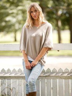 Petite V Neck Cashmere Poncho Cashmere Poncho, Sweater Weather, Taupe, What To Wear, V Neck, Women, Fashion, Beige, Moda