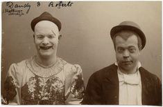 12 Horrifying Photos Of French Clowns From 1900-1930s