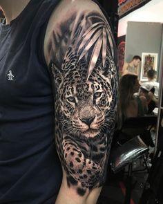 30 Legitimately Brilliant Tattoo Ideas for Men - TattooBlend Lion Arm Tattoo, Big Cat Tattoo, Lion Tattoo Sleeves, Lion Head Tattoos, Arm Tattoos For Guys, Forearm Tattoo Men, Leg Tattoos, Body Art Tattoos, Sleeve Tattoos