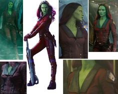 Gamora Ravagers outfit