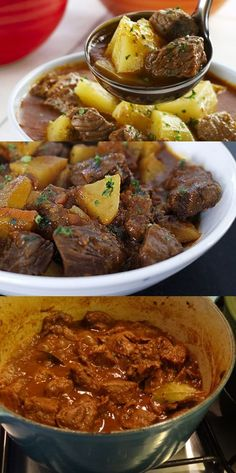 Receita de Batata com brócolis ao forno - - Kostenlose Stock Pork Recipes, Cooking Recipes, Healthy Recipes, Portuguese Recipes, Home Food, Other Recipes, Food Porn, Easy Meals, Food And Drink
