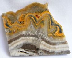and Bumble Bee Jasper aka Eclipse Stone or Fumarole Jasper are solar plexus stones that enhance creativity and boost self esteem Crystals Minerals, Rocks And Minerals, Crystals And Gemstones, Stones And Crystals, Healing Crystals For You, Crystal Meanings, Mineral Stone, Jasper Stone, Minerals