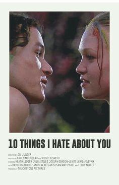 10 things I hate about you alternative poster - Based on the series of Andrew Sebastian Kwan. Old Film Posters, Iconic Movie Posters, Posters Vintage, Retro Poster, Minimal Movie Posters, Minimal Poster, Movie Poster Art, Poster S, Iconic Movies