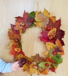 Tvoříme s dětmi podzimní dekorace