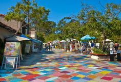 Spanish Village, Balboa Park Editorial Photography - Image: 15519312
