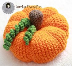 Get ready for Halloween with some fun crochet patterns. You can crochet pumpkin patterns for the holiday. Find pumpkin hats, decor, and more. Diy Tricot Crochet, Crochet Gratis, Crochet Fall, Holiday Crochet, Crochet Home, Free Crochet, Crochet Pumpkin Pattern, Halloween Crochet Patterns, Pumpkin Patterns