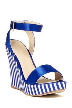 Bucco Enid Wedge Sandal by Assorted on @HauteLook