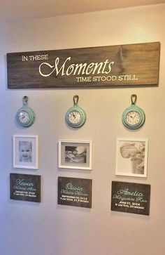 In These Moments Time Stood Still  Family Tree  Family Sign