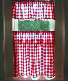 Kitchen Curtains On Pinterest Cafe Curtains Valances And Kitchen C