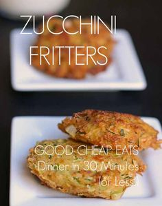 Do you love serving up homemade food to your family but wish it didn't take so much time? Here's some of the top secrets from Jessica from Good Cheap Eats! Have a REAL FOOD dinner on the table in 30 minutes or less with these secrets! Plus, recipes for her amazing zucchini fritters!: