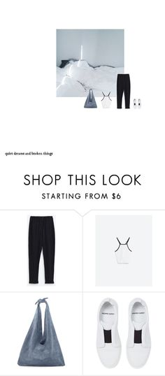 """""""."""" by anna-flower ❤ liked on Polyvore featuring The Row and Pierre Hardy"""
