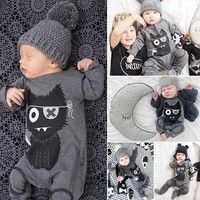 94fe30fd2 Baby   Toddler Summer Clothing Newborn Baby Pure Cotton Rompers Baby ...