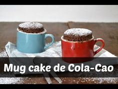 Cuuking! Recetas de cocina: Mug cake de ColaCao o bizcocho en taza al microondas (Ahora con Videoreceta!)