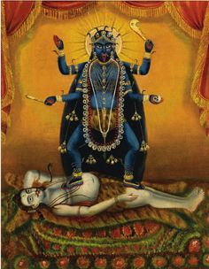Darshan: A Gallery of Kali Ma Images Mother Kali, Divine Mother, Kali Goddess, Mother Goddess, Goddess Art, Hindus, Arte Shiva, Kali Tattoo, Kali Mata