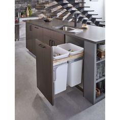 Kitchen Room Design, Kitchen Cabinet Design, Modern Kitchen Design, Home Decor Kitchen, Interior Design Kitchen, Home Kitchens, Small Modern Kitchens, New Kitchen Designs, Kitchen Furniture